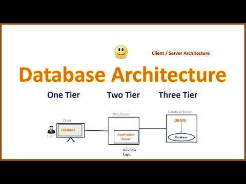 Database Architecture in Hindi(Client / Server Architectur) Simple & Easy  Explain