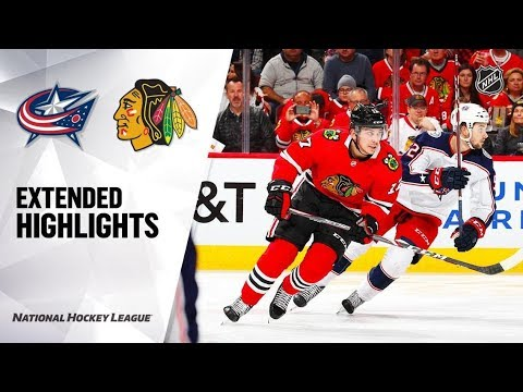 Download Columbus Blue Jackets vs Chicago Blackhawks Oct 18, 2019 HIGHLIGHTS HD