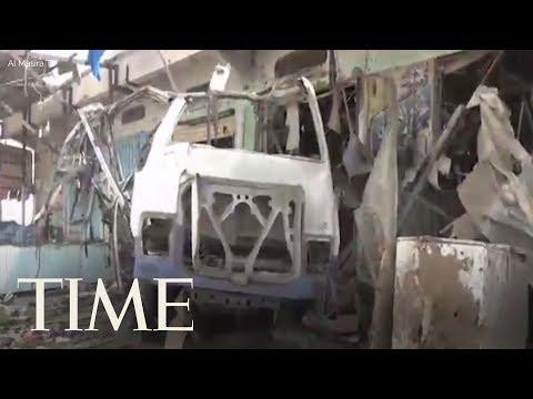 Dozens Of Children Killed As Saudi-Led Airstrikes Hit A Bus In Yemen   TIME