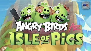 Angry Birds AR: Isle of Pigs - iPhone Exclusive Gameplay