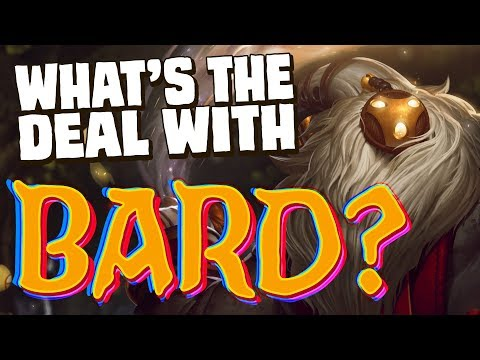 What's the deal with Bard? || Character design & lore discussion