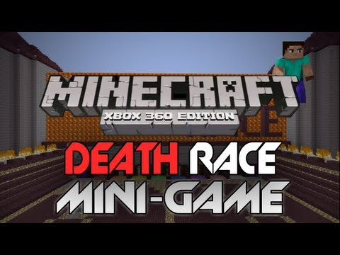 Minecraft: Xbox 360 - Death Race W/ Download (Minecraft Mini-Game Review)