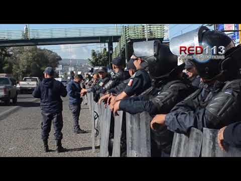 VIDEO Manifestantes acuerdan marcha en lugar de bloqueos