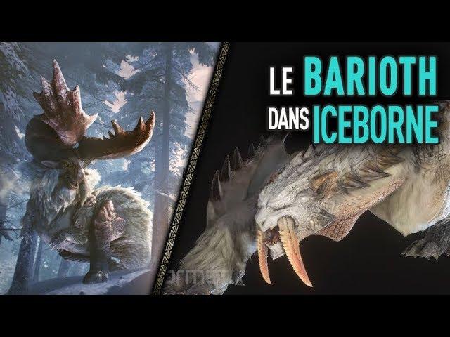 MHW Iceborne - LE BARIOTH SE DÉVOILE