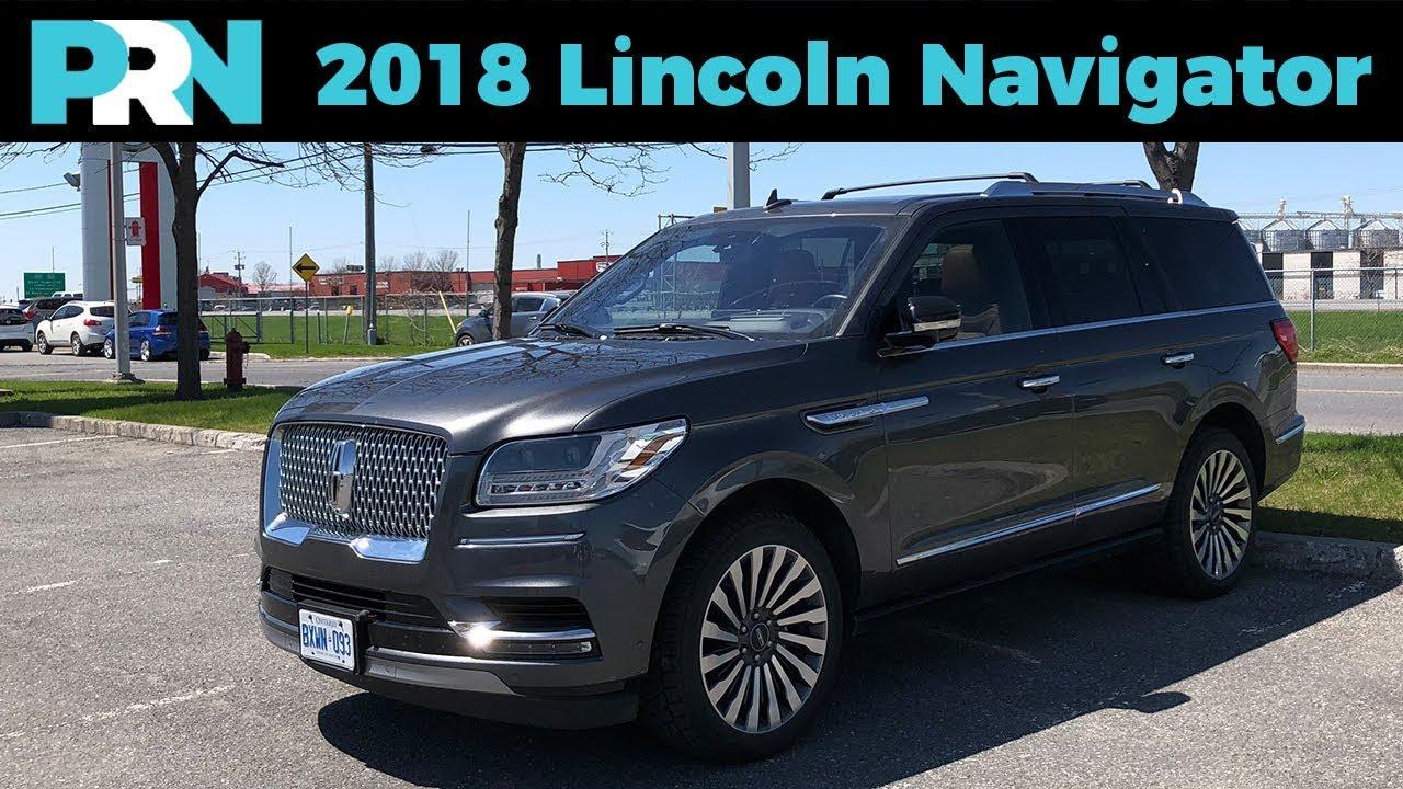 Return Of Lincoln 2018 Lincoln Navigator Reserve Testdrive Spotlight