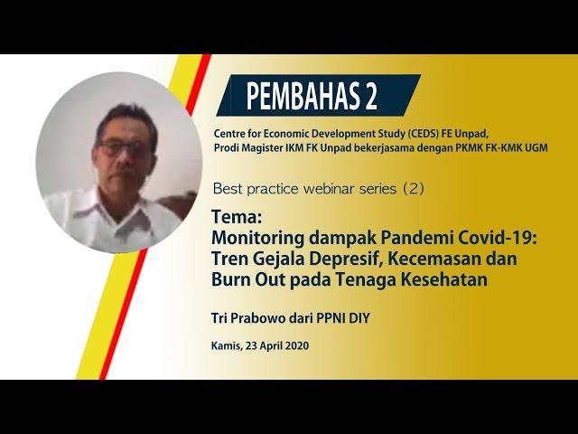 Pembahas2 Mental Health Pada Tenaga Kesehatan Di Masa COVID 19 Tri Prabowo