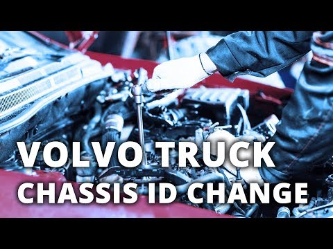 How To Change Volvo Truck's Chassis ID In TechTool Offline