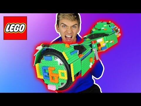 LEGO HOVERBOARD MOD!!