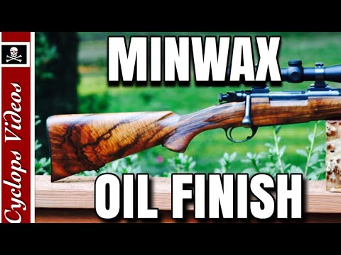 Gunstock Refinishing Oil Finish