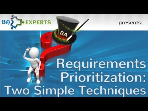 Requirements Prioritization: Two Simple Techniques
