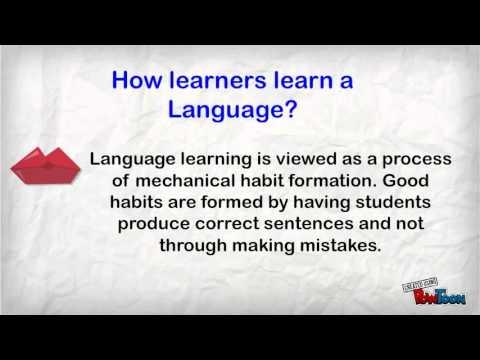 The Communicative Language Teaching CLT