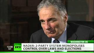 Ralph Nader: Corporate socialism runs US government