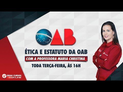 Видео Curso online oab