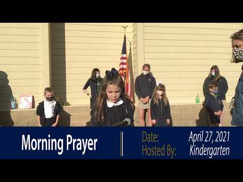 Tuesday's daily Morning Prayer at The Franciscan School. Enjoy our kindergartener-led prayer!.