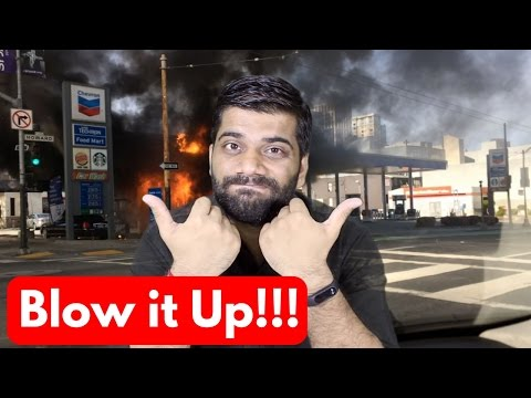 Cellphones Causing Gas Stations and Petrol Pumps Fire OMG!!!