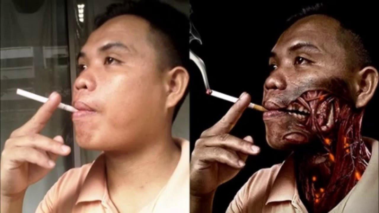 Contoh Poster Kesehatan Bahaya Merokok No Smoking Poster Campaign