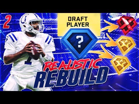 Drafting A Superstar X Factor + 2 Superstars -- INSANITY! | Colts Madden 20 Realistic Rebuild | Ep 2