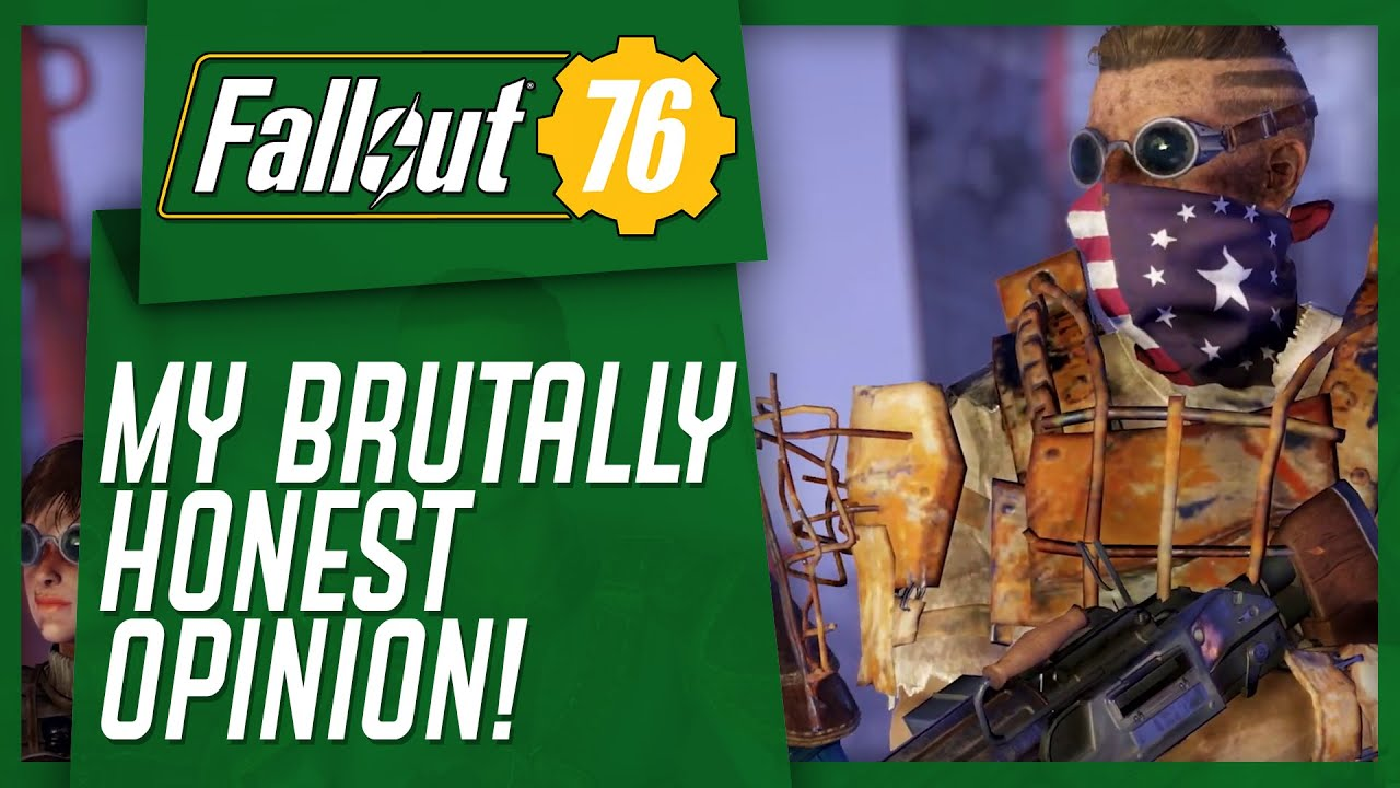 I PLAYED Fallout 76 Wastelanders - My Brutally Honest Opinion thumbnail