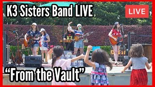 """K3 Sisters Band """"From the Vault Concert Series No. 05272019"""" -Dallas Arboretum"""
