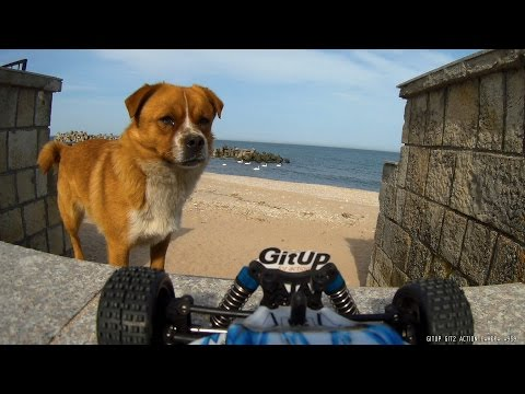 GitUp Git2 GYRO offroad test on RC car A959