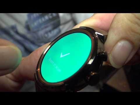 ASUS ZenWatch 3 Unboxing, First Review Android Wear 2.0