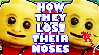 How The Robloxians Lost Their Noses! - Roblox History Lessons - Why Roblox Characters Have No Nose