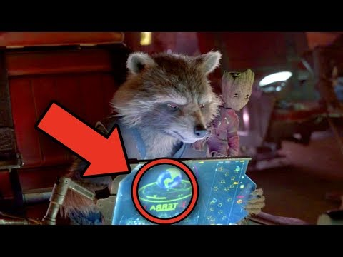 Guardians of the Galaxy - WHO MADE ROCKET? (Vol 2 Missing Easter Egg!)