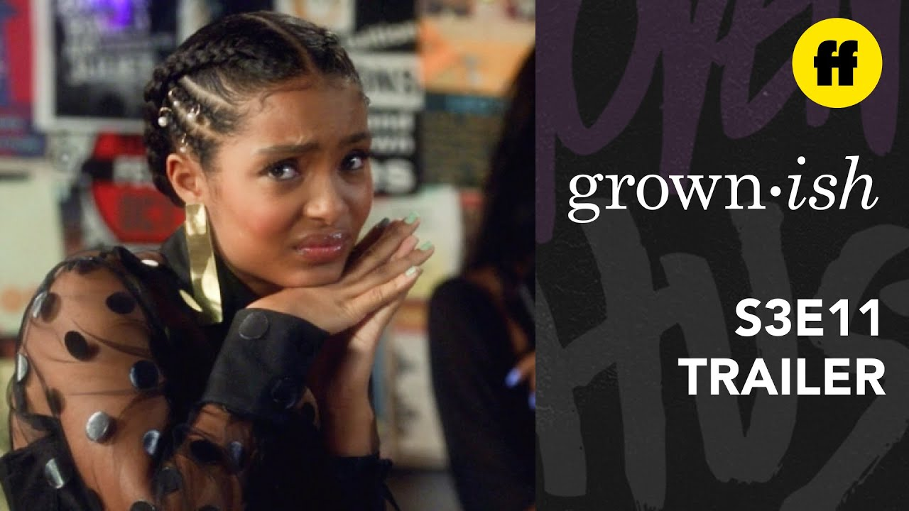 Download grown-ish | Season 3, Episode 11 Trailer | Aaron Makes His Television Debut