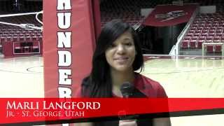 2012 SUU Volleyball Profiles - Marli Langford