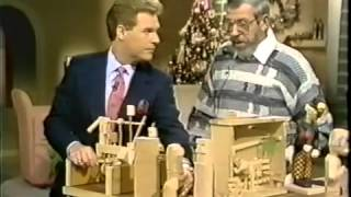 """Jack Britt """"how To"""" Wood Carving/animation Tv Interview"""