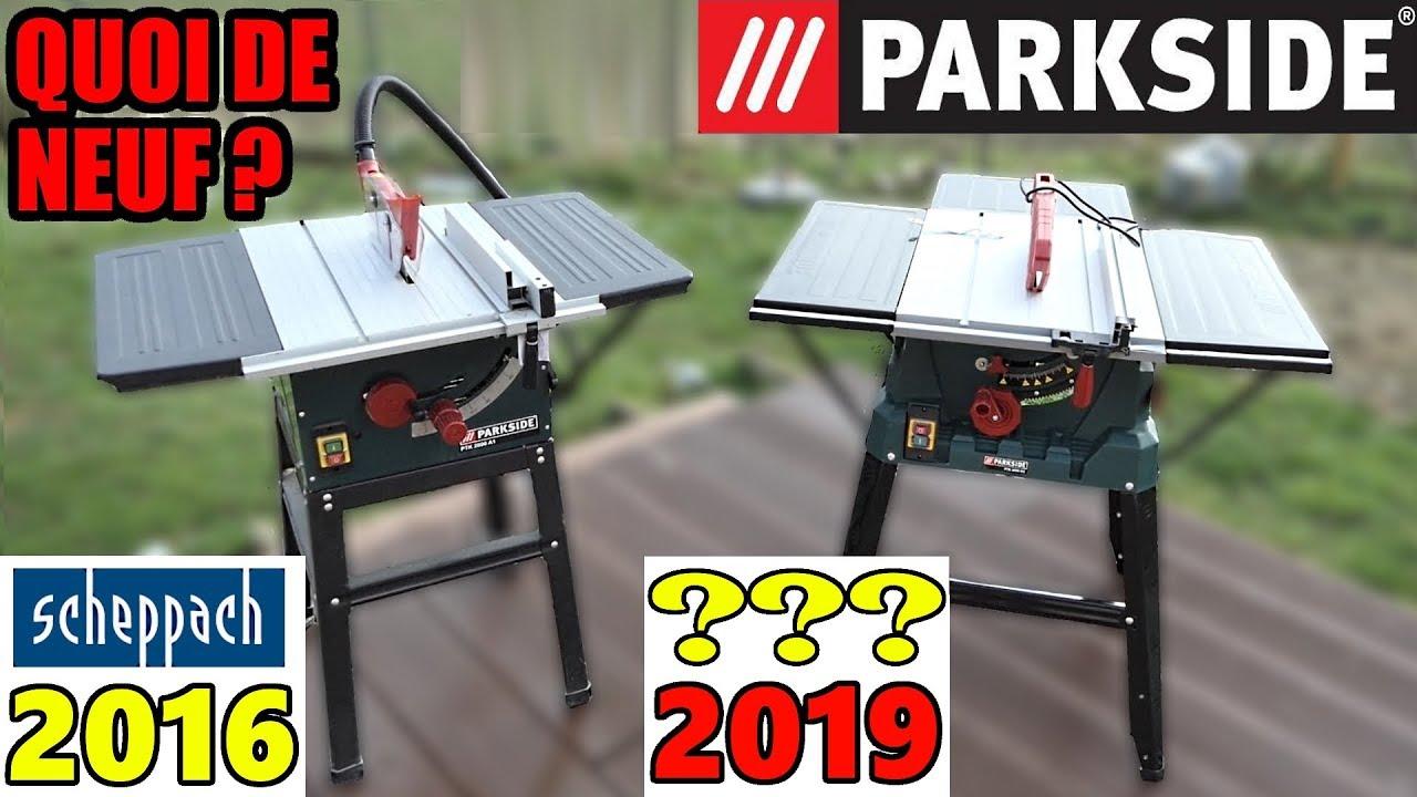 scie circulaire sur table parkside lidl ptk 2000 d3 a1 quoi de neuf what 39 s new youtube