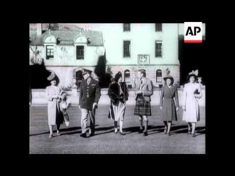 General Eisenhower's Royal Hosts - 1946