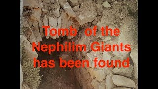 Ancient King and Queen Nephilim Giants Tomb found by John Brewer