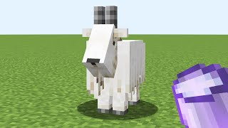 what if I use fortune 10000 bucket on a goat?