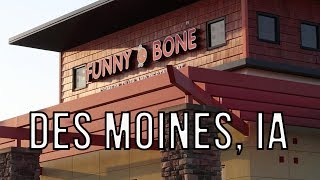 Performing at Des Moines Funny Bone
