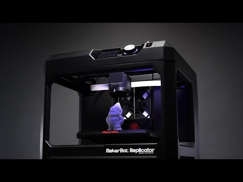 CES 2014 Review - Makerbot 5th Generation 3D Printer - Chupacabra Labs