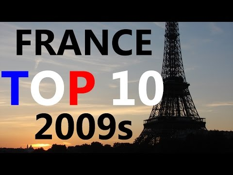 France Top 10 singles of the 2009s