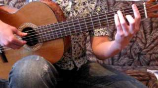 Обучение на гитаре. Полонез