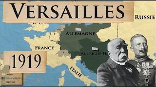 L'Europe et la Première Guerre mondiale: les traités de Versailles et de la banlieue parisienne