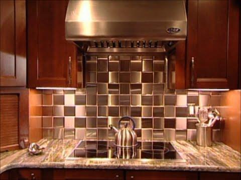 Hgtv Stainless Steel Tile Installation Metal Co