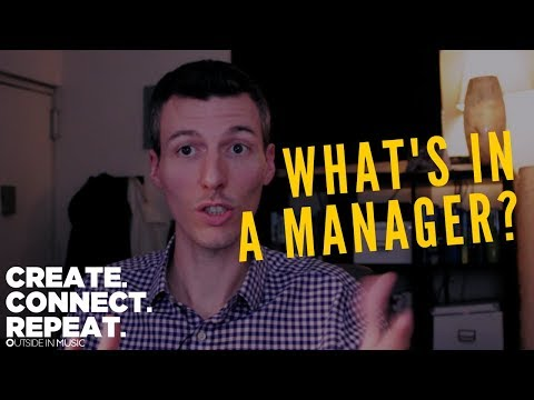 what's in an artist manager?   Create. Connect. Repeat.
