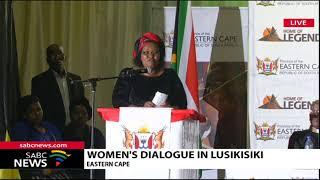 President Ramaphosa in Lusikisiki