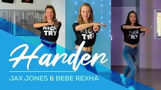 Jax Jones, Bebe Rexha - Harder - Easy Fitness Dance Video - Choreo - Baile