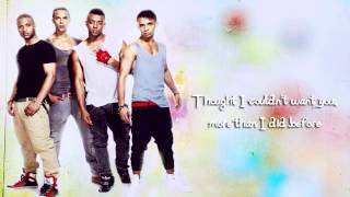 JLS - Love You More Lyrics Video