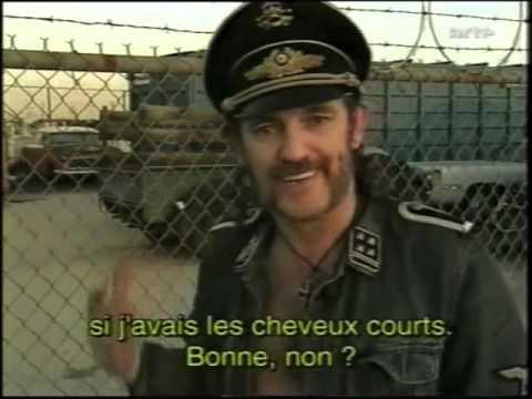 Motörhead Lemmy Interview 1995 ARTE (rare)