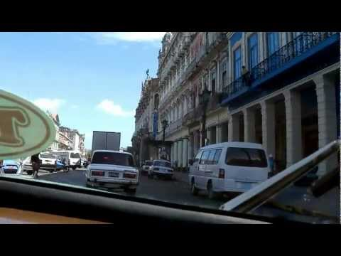 Taxi Ride Through Havana, June 2012
