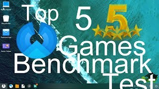 Phoenix OS Review And Gaming Performance Test With Top 5 Games 2017