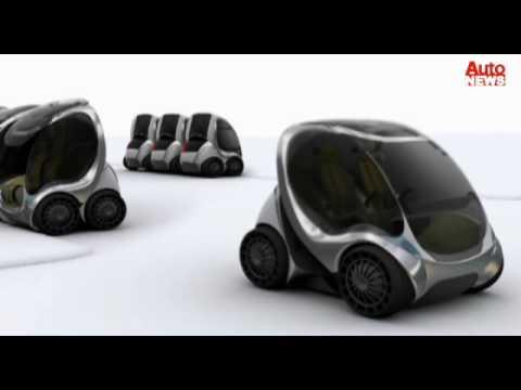Hiriko Citycar: Fahrzeug zum Falten