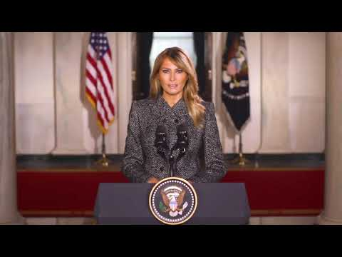 "First Lady Melania Trump delivers ""goodbye"" remarks on her final days in the White House"