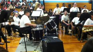 """Blues for a new day"" Hufford jr high 4/24/14"